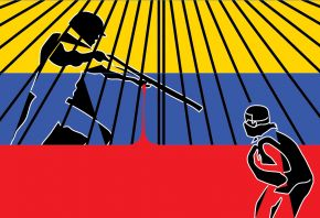 Dishonor versus honor / GNB = VUF Brave young men of the Venezuelan Unarmed Forces